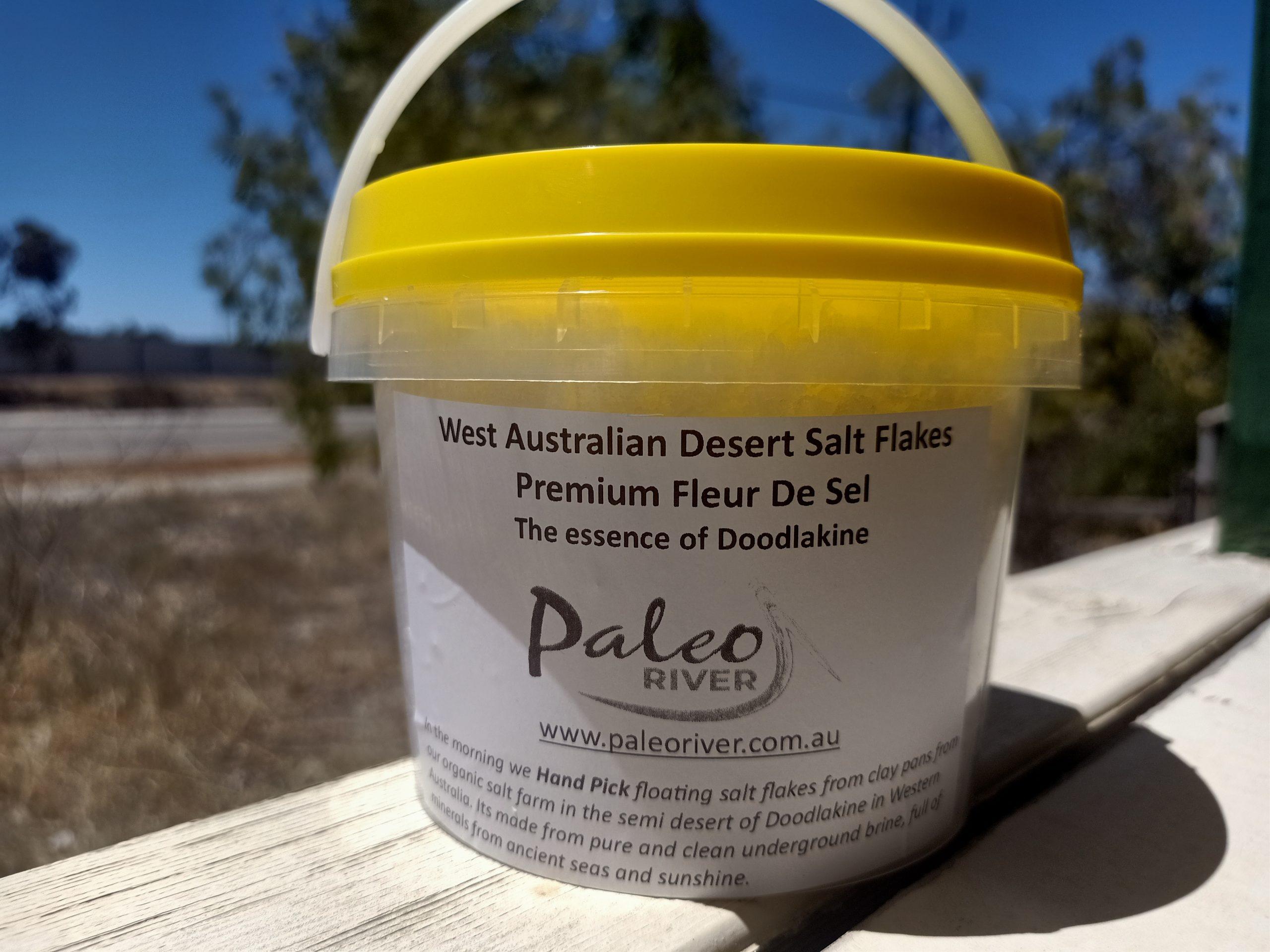 West Australian Desert Salt Flakes – Fleur De Sel- 700g
