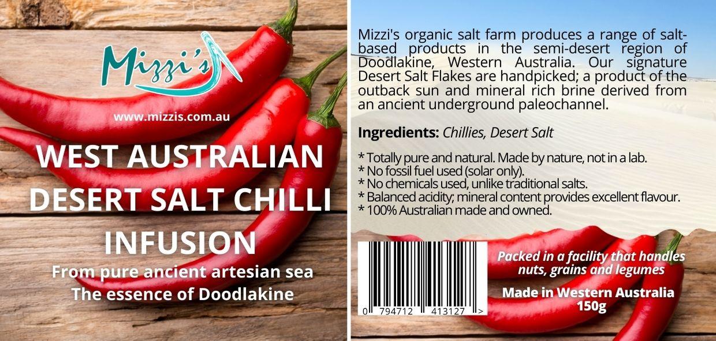 Chilli Desert Salt Infusion – 150g