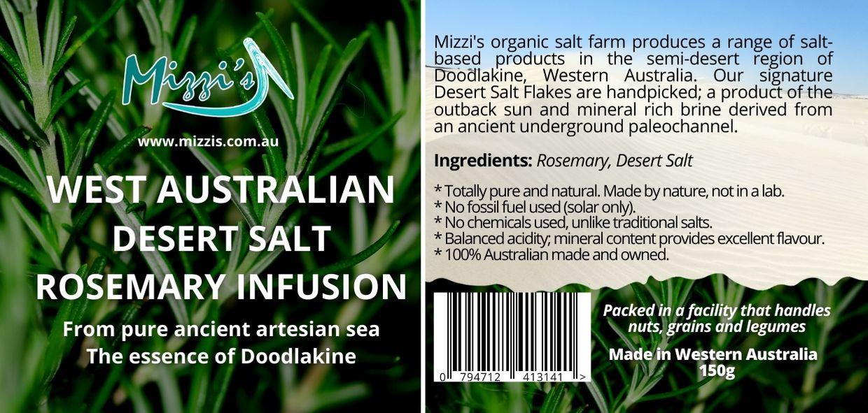 Rosemary Desert Salt Infusion – 150g