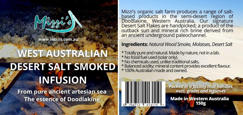 Smoked BBQ Desert Salt Infusion – 150g